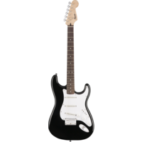 Squier Bullet Stratocaster Hard Tail, Black