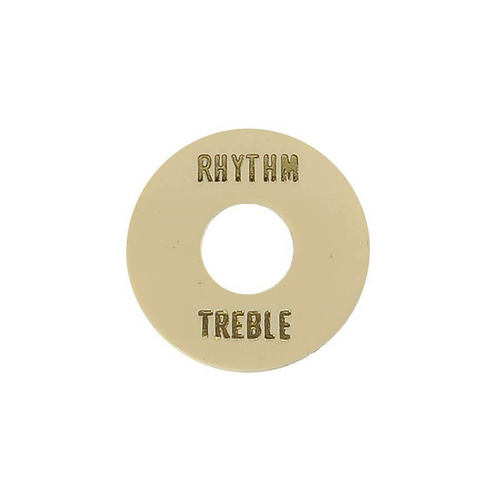 Boston Music Boston 3-Way LP Toggle Switch, Nickel/Ivory