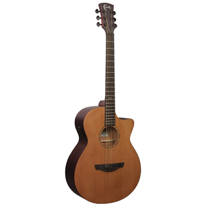 Faith Naked Venus, Electro-Acoustic, All Solid, Cedar Top, Stained Mahogany Back