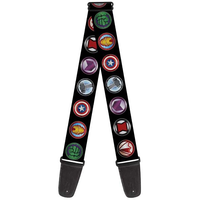 Buckle Down Avengers Shield Guitar Strap