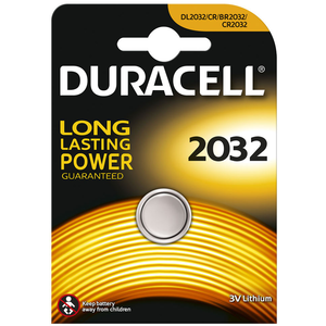 Duracell Lithium CR2032 Battery, Single