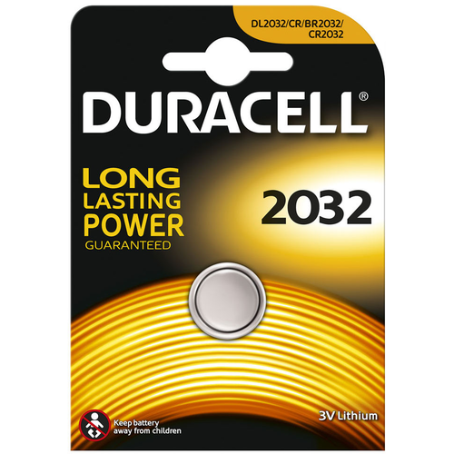 Duracell Duracell Lithium CR2032 Battery, Single