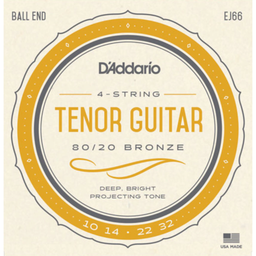 D'Addario D'Addario EJ66 Tenor Guitar String Set