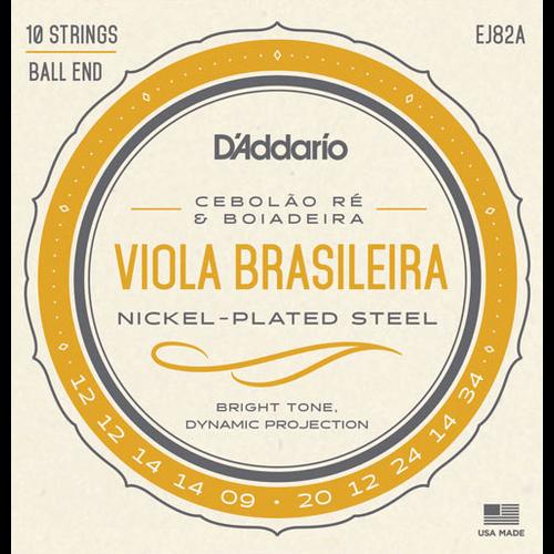 D'Addario D'Addario EJ82A Viola Brasileira String Set, Cebolao Re and Boiadeira