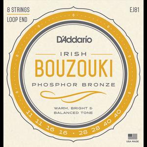 D'Addario EJ81 Irish Bouzouki String Set
