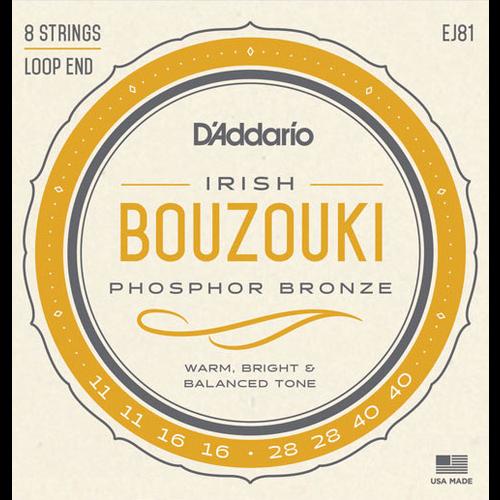 D'Addario D'Addario EJ81 Irish Bouzouki String Set
