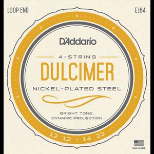D'Addario EJ64 4-String Dulcimer String Set