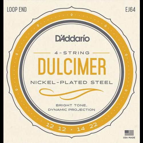 D'Addario D'Addario EJ64 4-String Dulcimer String Set
