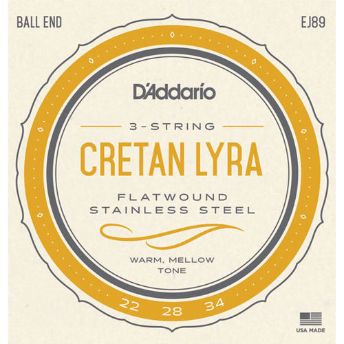 D'Addario D'Addario EJ89 Cretan Lyra String Set