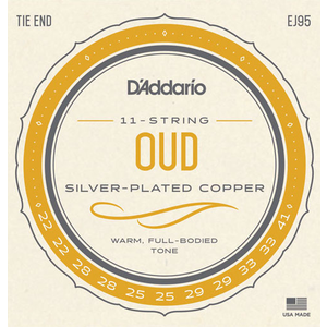D'Addario EJ95 Oud 11-String Set