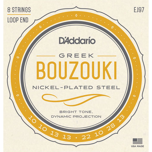 D'Addario D'Addario EJ97 Greek Bouzouki String Set