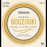 D'Addario EJ97-6 Greek Bouzouki String Set