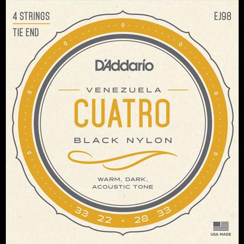 D'Addario D'Addario EJ98 Cuatro-Venezuela String Set