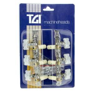 TGI Machineheads Classical (3-a-Side), Lyra Style, Nickel