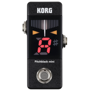 Korg PitchBlack Mini Tuner Pedal