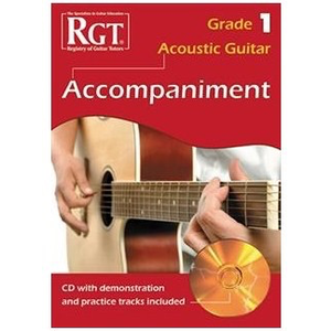 RGT Acoustic Guitar Accompaniment Grade 1