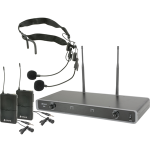 Chord Dual UHF Wireless Beltpack System - 863.3MHz + 864.3MHz