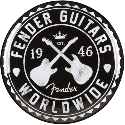 """Fender Clothing & Collectibles Fender Worldwide Bar Stool, 24"""""""