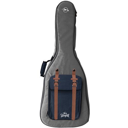 Seagull Seagull Gigbag, Grey And Navy Backpack, Dreadnought