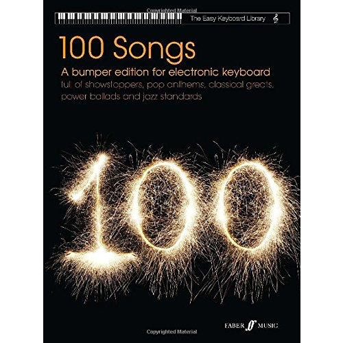 Faber Music Easy Keyboard Library: 100 Songs - A Bumper Edition For Electronic Keyboard