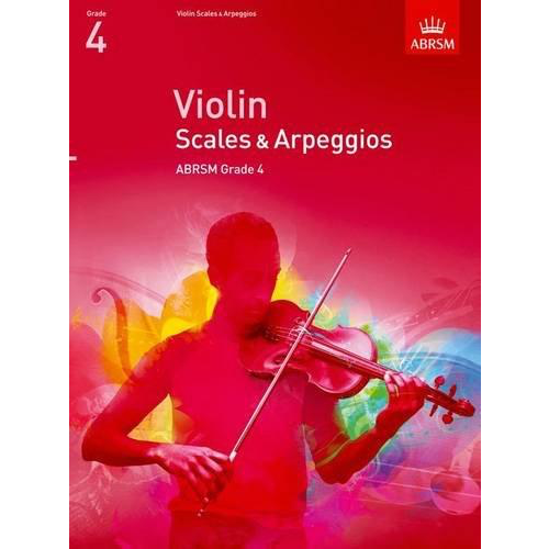 ABRSM Publishing ABRSM: Violin Scales And Arpeggios - Grade 4 (From 2012)