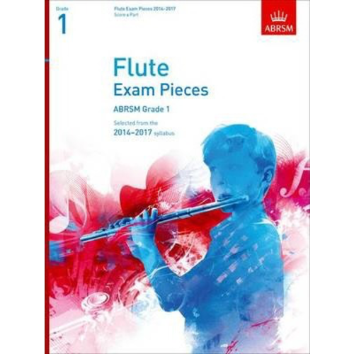 ABRSM Publishing ABRSM Exam Pieces 2014-2017 Grade 1 Flute/Piano (Book Only)