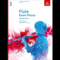 ABRSM Exam Pieces 2014-2017 Grade 3 Flute/Piano (Book Only)