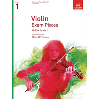 ABRSM: Violin Exam Pieces 2016–2019 - Grade 1 (Score & Part)