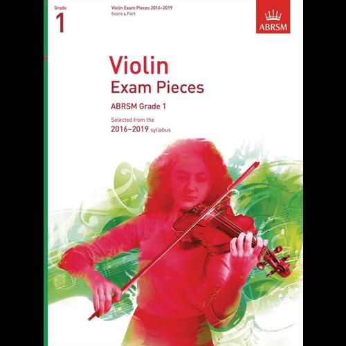 ABRSM Publishing ABRSM: Violin Exam Pieces 2016–2019 - Grade 1 (Score & Part)
