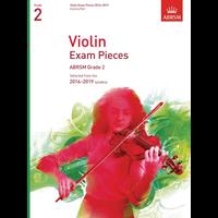 ABRSM: Violin Exam Pieces 2016–2019 - Grade 2 (Score & Part)