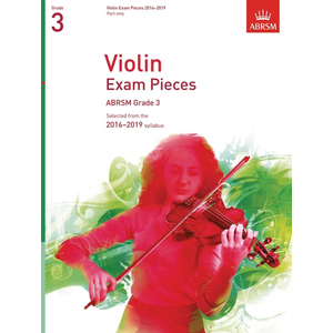ABRSM: Violin Exam Pieces 2016–2019 - Grade 3 (Part)
