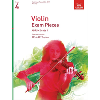 ABRSM: Violin Exam Pieces 2016–2019 - Grade 4 (Part)