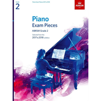 ABRSM Piano Exam Pieces: 2017-2018 - Grade 2 (Book Only)