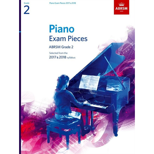 ABRSM Publishing ABRSM Piano Exam Pieces: 2017-2018 - Grade 2 (Book Only)