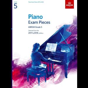 ABRSM Piano Exam Pieces: 2017-2018 - Grade 5 (Book Only)