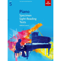 ABRSM Piano Specimen Sight Reading Tests: From 2009 - Grade 5