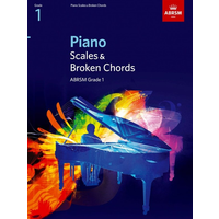 ABRSM Piano Scales and Broken Chords: From 2009 (Grade 1)