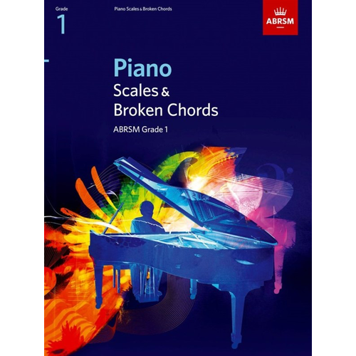 ABRSM Publishing ABRSM Piano Scales and Broken Chords: From 2009 (Grade 1)
