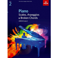 ABRSM Piano Scales and Broken Chords: From 2009 (Grade 2)