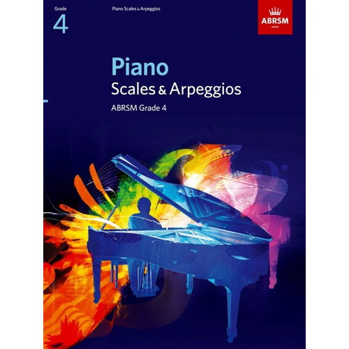 ABRSM Publishing ABRSM Piano Scales and Broken Chords: From 2009 (Grade 4)