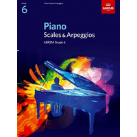 ABRSM Piano Scales and Broken Chords: From 2009 (Grade 6)