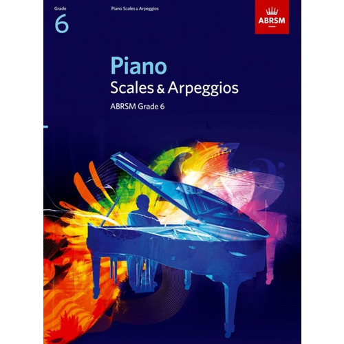 ABRSM Publishing ABRSM Piano Scales and Broken Chords: From 2009 (Grade 6)