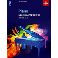 ABRSM Piano Scales and Broken Chords: From 2009 (Grade 8)