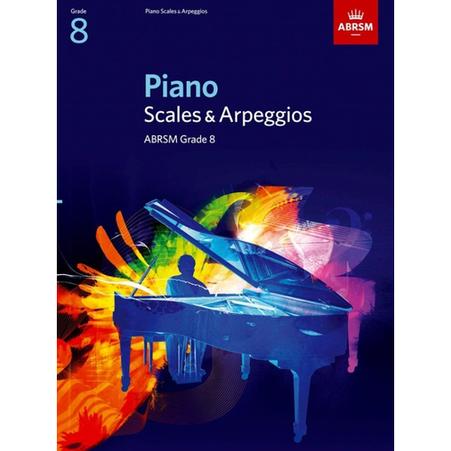 ABRSM Publishing ABRSM Piano Scales and Broken Chords: From 2009 (Grade 8)