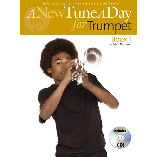 Boston Music A New Tune A Day: Trumpet/Cornet - Book 1 (CD Edition)