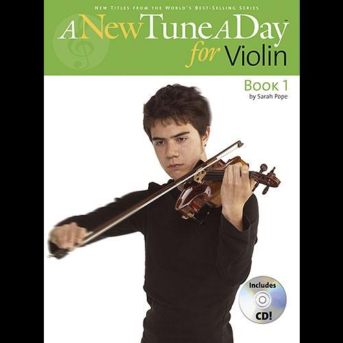 Boston Music A New Tune A Day: Violin - Book 1 (CD Edition)