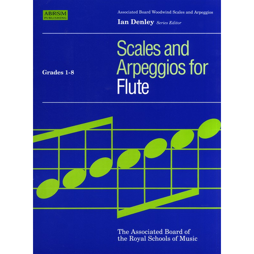 ABRSM Publishing ABRSM Scales And Arpeggios For Flute Grades 1-8