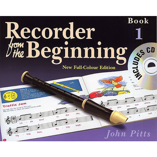 Music Sales Recorder From The Beginning : Pupil's Book/CD 1 (2004 Edition)