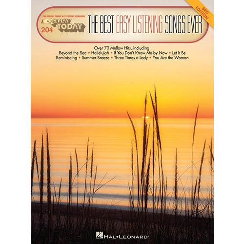 Hal Leonard E-Z Play Today 204: The Best Easy Listening Songs Ever
