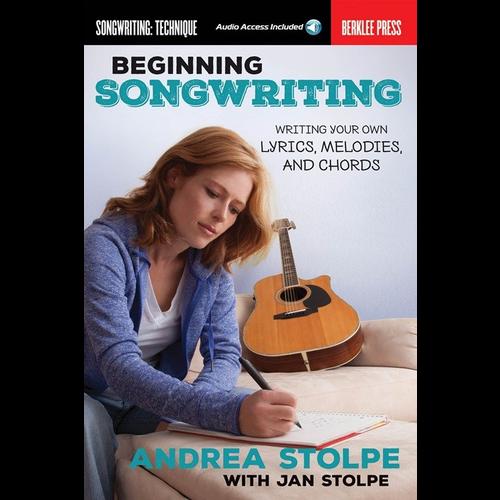 Music Sales Beginning Songwriting (Book/Online Audio)